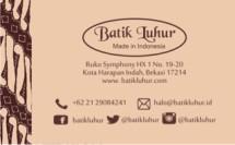 Batik Luhur dot com
