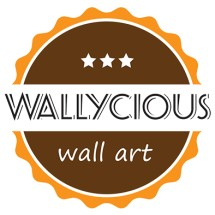 Wallycious Wall Art