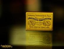 SAKERHETS-TANDSTICKOR