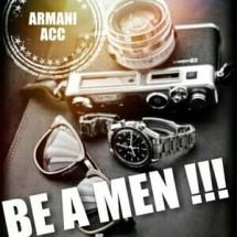 ARMANI MEN ACC