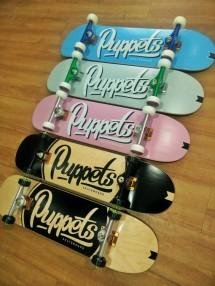 Puppets skateboard