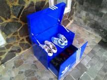 Sneakers of sun