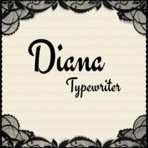 Diana typewriter