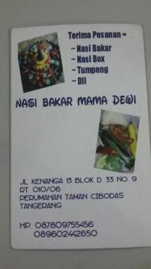 Nasi Bakar Mama Dewi