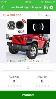 Aksesoris Jeep JK