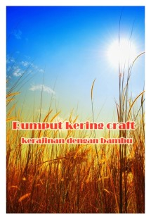 rumput kering craft
