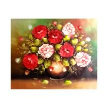 Lukisan Bunga Cantik