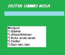 Butik Ummu Nisa