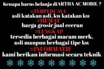 Artha AC Mobil