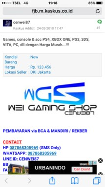 Wei gaming shop