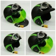 Matrix Helm Retro