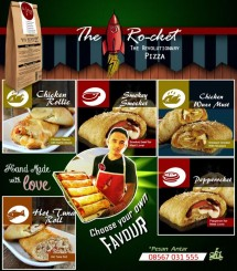The Ro-Cket Pizza