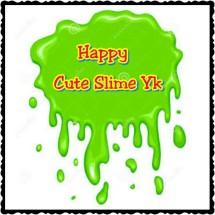 happy cute slime yk