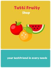 Tutti Fruity Shop