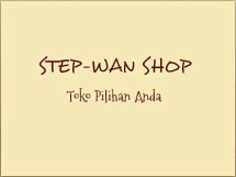 STEP-WAN SHOP