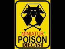 Miniatur Poison Diecast