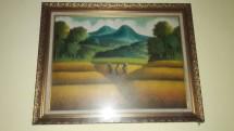 toko lukisan pemandangan