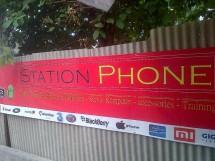 station phone