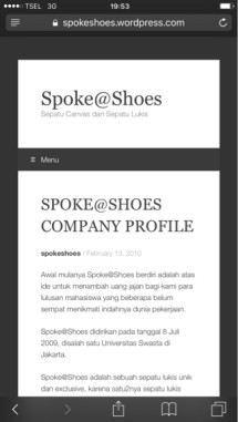 Spoke@Shoes