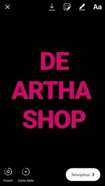 DE ARTHA SHOP