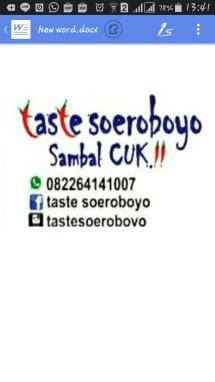 TasteSoeroboyo