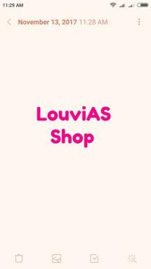 LouviAS Shop