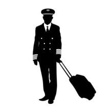 Jaket pilot Replika