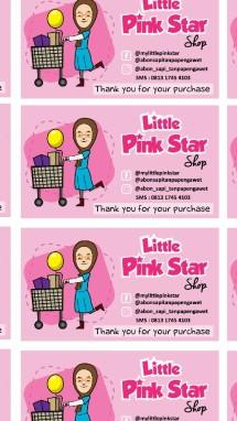 little pink star