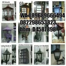 produksi lampu hias
