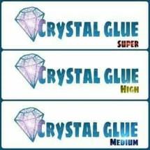 crystal glue akrilik