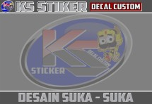 KS Designs Stiker