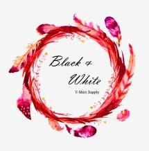 Black&White Kaos Grosir