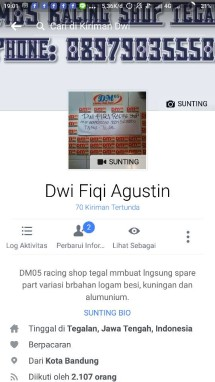DM05 racing shop tegal