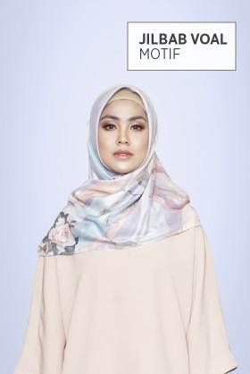 Jilbab Voal Motif