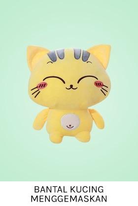 Boneka Bantal Kucing