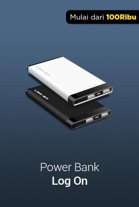 Power Bank Log On
