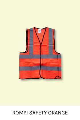 Rompi Safety Orange