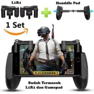 Joystick Pubg L1r1 Gamepad L1 R1 Handle Gaming Game Pad Hp Holder R1l1 Tokopedia