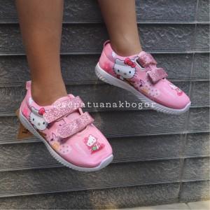 Sepatu Anak Perempuan Hello Kitty Kabocha Tokopedia