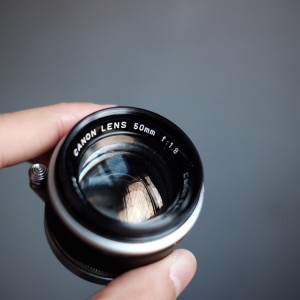 Lensa Manual Canon Ltm 50mm F 18 Tokopedia