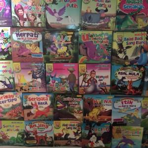 Grosir Buku Cerita Anak Billingual Isi 25pcs