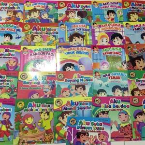 Buku Anak Teladan seri balita pintar dua bahasa