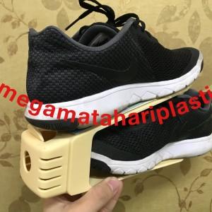 Rak Sepatu Double Rak Sepatu Susun Tokopedia