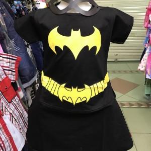 Baju Anak Kostum Perempuan Batgirl Tokopedia
