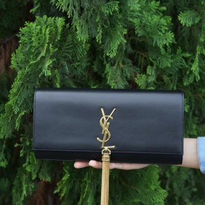 Jual YSL Classic Monogramme Clutch with Tassel 294e7c8855