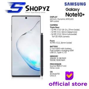 SAMSUNG GALAXY NOTE 10+ 10 PLUS - 512GB / 12GB - GARANSI RESMI SEIN