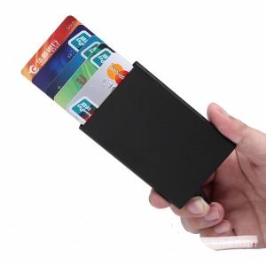 Dompet Kartu Metal Case Card Holder RFID Protection X-1
