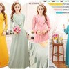 gamis jersy butterfly