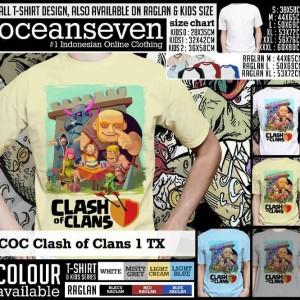 T-Shirt Clash of Clans