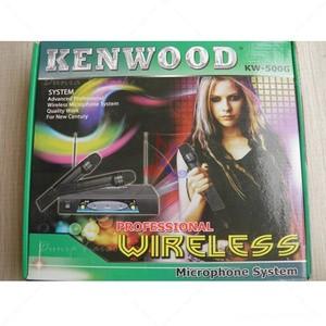 Harga Murah Mic Wireless Kenwood Kw 500 Professional Microphone Tokopedia